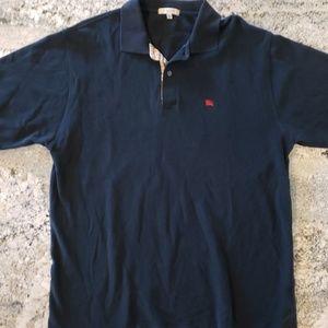 Burberry London Men's Pique Cotton Polo XL